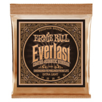 Everlast Extra Light Coated Phosphor Bronze Acoustic Guitar Strings