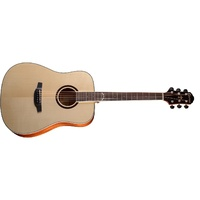 Crafter HD-600 Solid Top Dreadnought Acoustic