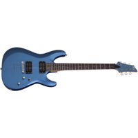 Schecter C-6 Deluxe Electric Guitar   (metallic Blue)