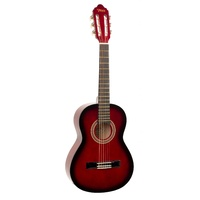 Valencia 1/2 Student Guitar (Red Burst)
