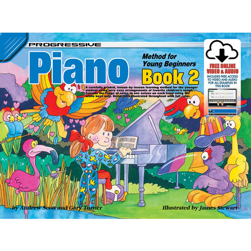 Progressive Piano 2 for Young Beginners
